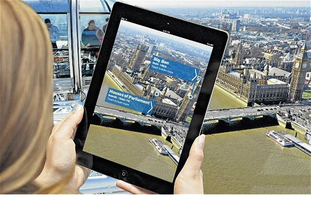 Viz Prof Eyes Augmented Reality Uses One Arch