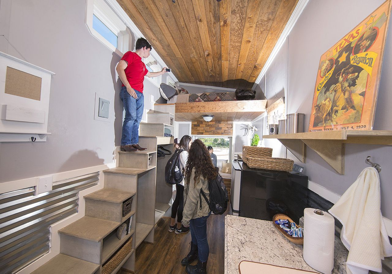Student Designed Built Tiny Homes To House Homeless