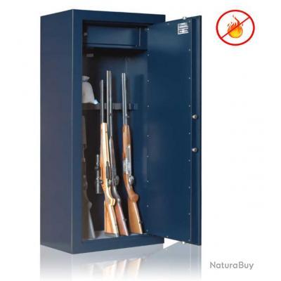 coffre fort elite gold 8 armes avec lunette coffre interieur port offert anti