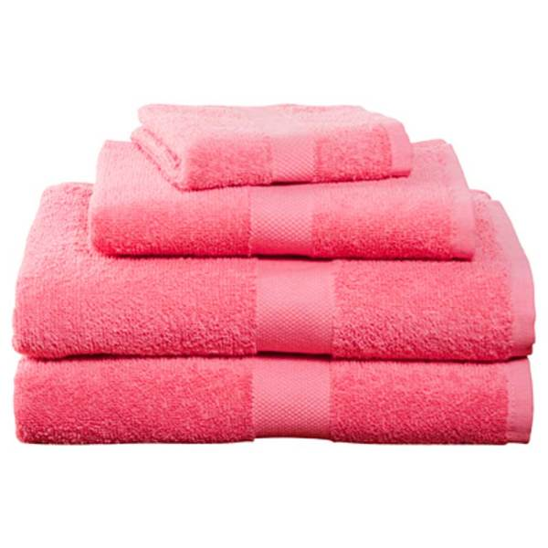 Hot Pink Bath Towels
