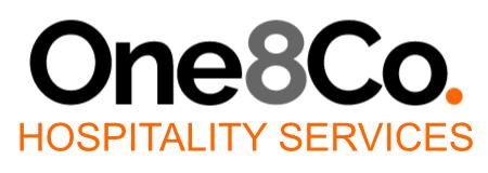 One 8 Hospitality Services Logo