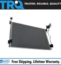 air conditioning ac condenser for crown victoria town car grand marquis marauder [ 1600 x 1600 Pixel ]