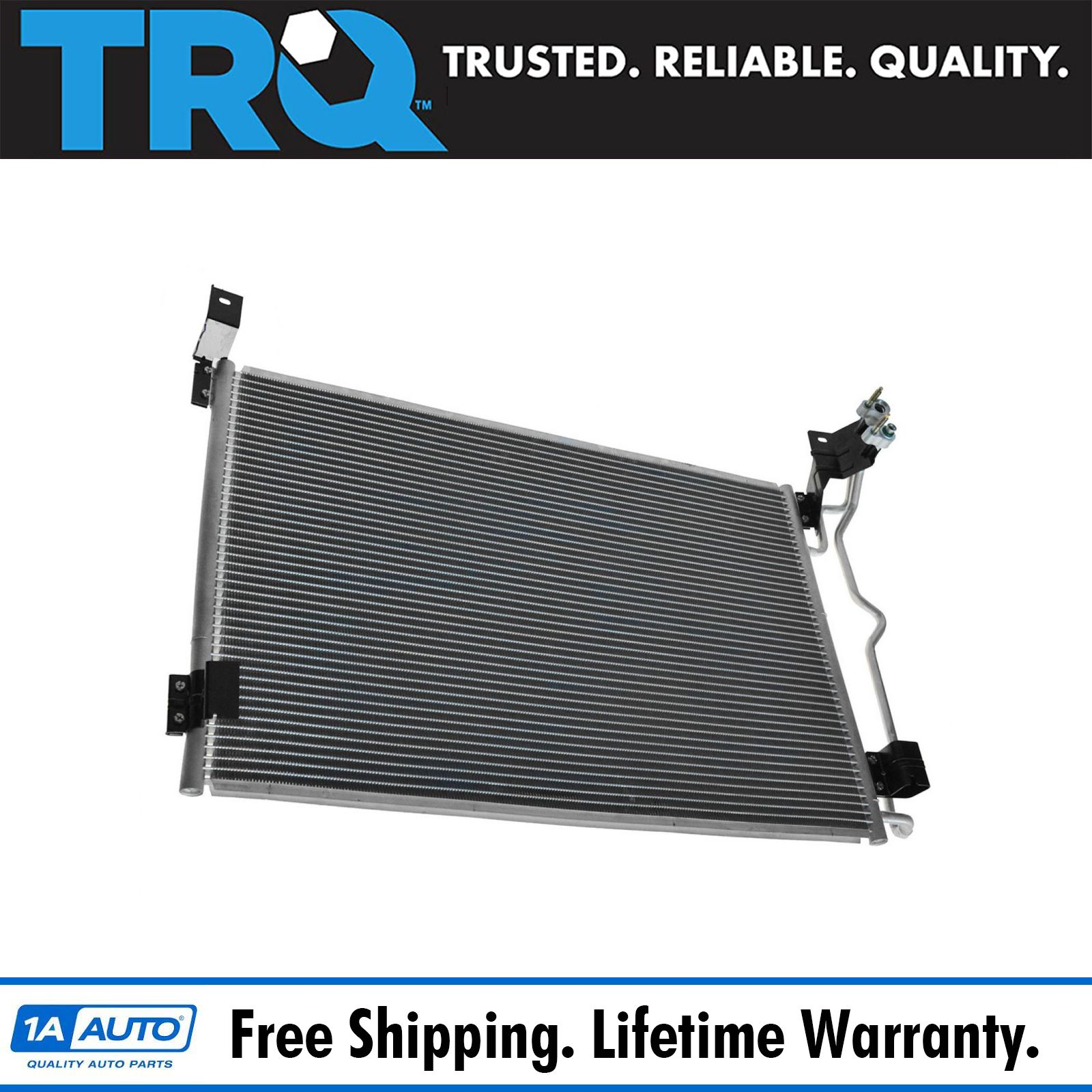 hight resolution of air conditioning ac condenser for crown victoria town car grand marquis marauder