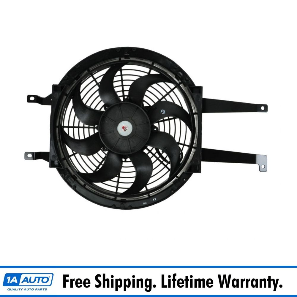 medium resolution of auxiliary a c ac condenser cooling fan assembly right rh for chevy gmc pickup