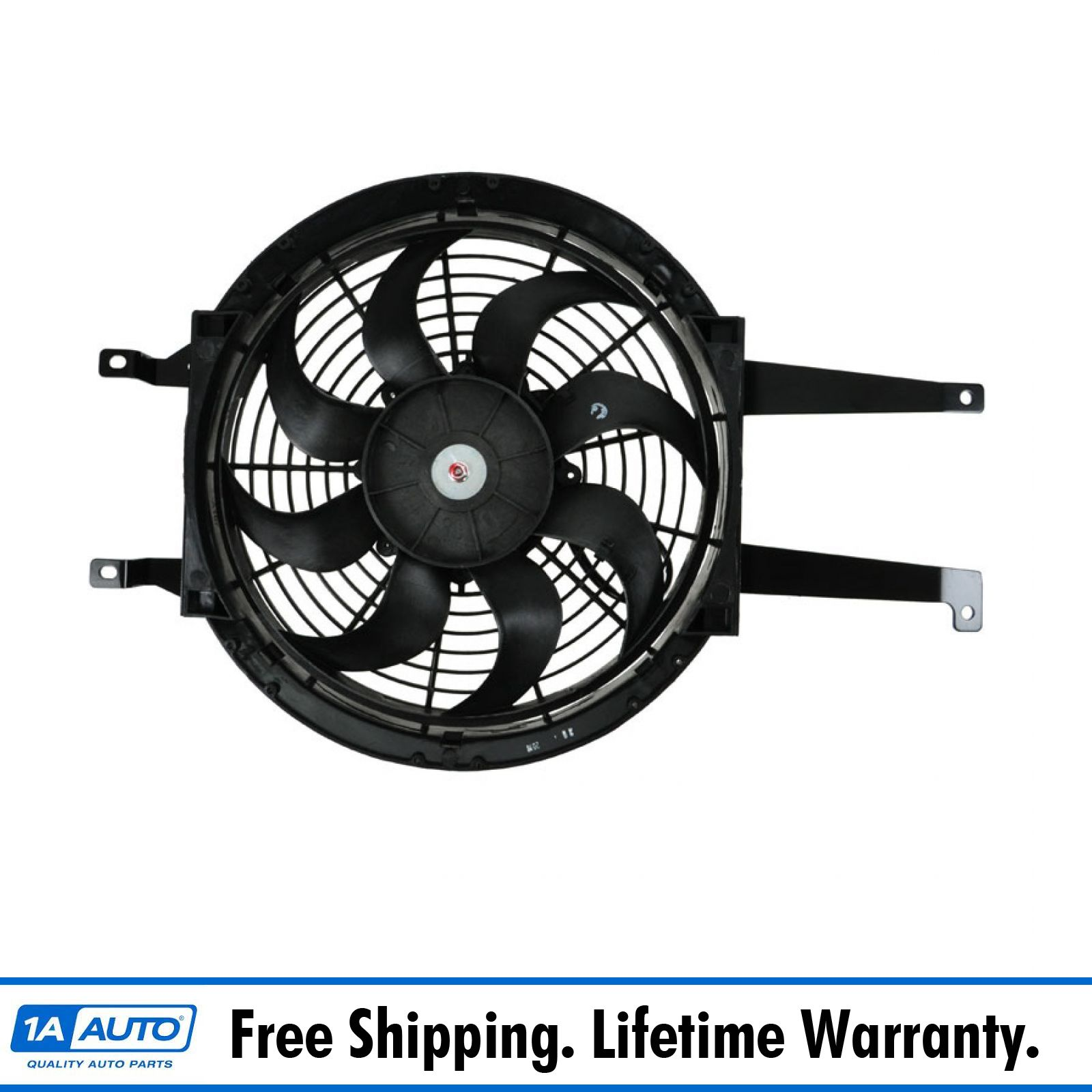 hight resolution of auxiliary a c ac condenser cooling fan assembly right rh for chevy gmc pickup
