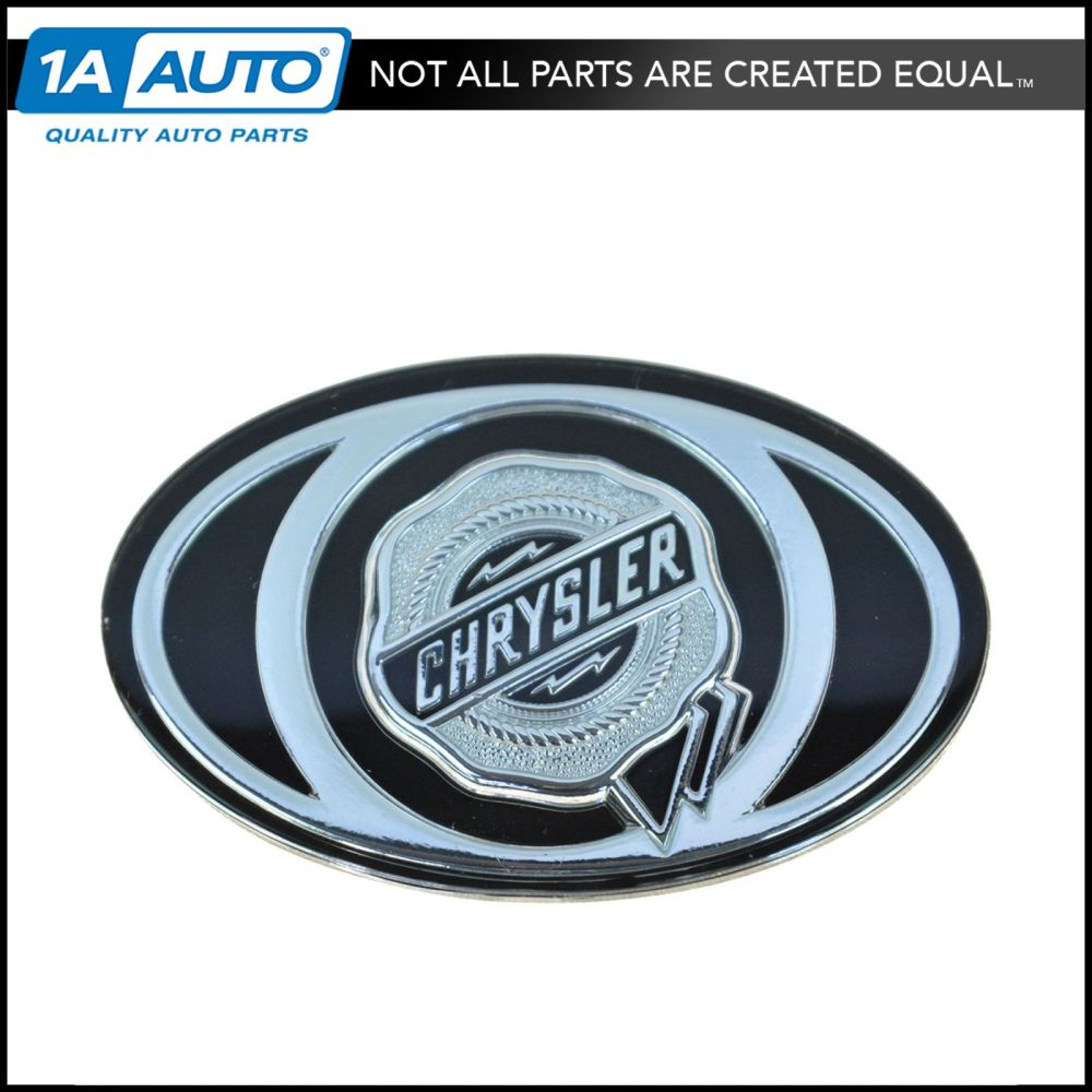medium resolution of details about oem special edition emblem black silver grille mount for 05 10 chrysler 300