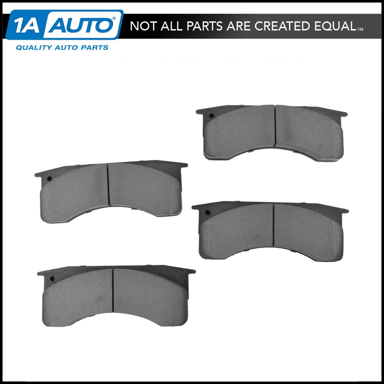 hight resolution of nakamoto posi ceramic brake pad set rear kit for ford f650 f750 gmc c6000 c7000