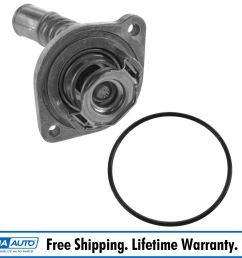 ac delco 15 11006 coolant thermostat w housing for chevy buick gmc oldsmobile [ 1600 x 1600 Pixel ]