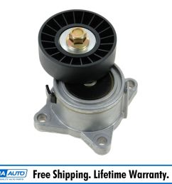 details about engine serpentine belt tensioner pulley new for ford focus escort 2 0l dohc [ 1600 x 1600 Pixel ]