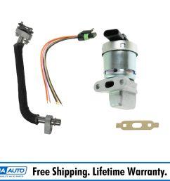 details about updated egr valve tube kit set w pigtail for equinox pontiac torrent v6 3 4l [ 1600 x 1600 Pixel ]