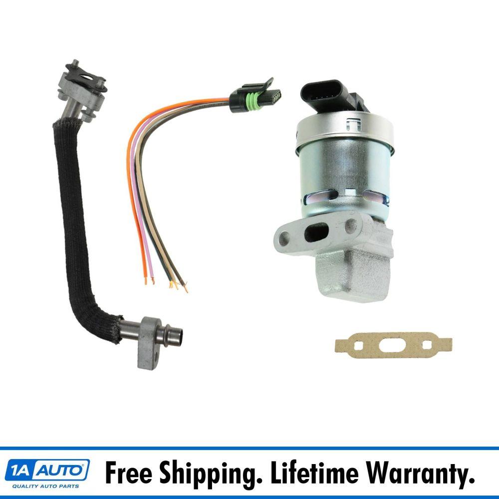 medium resolution of details about updated egr valve tube kit set w pigtail for equinox pontiac torrent v6 3 4l