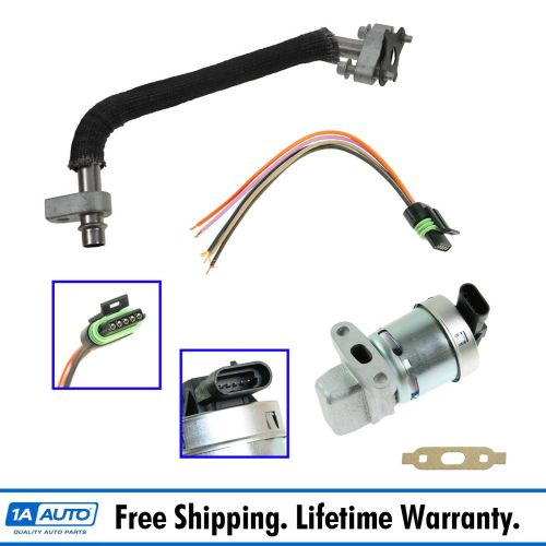 small resolution of details about updated egr valve tube kit set w pigtail for equinox pontiac torrent v6 3 4l