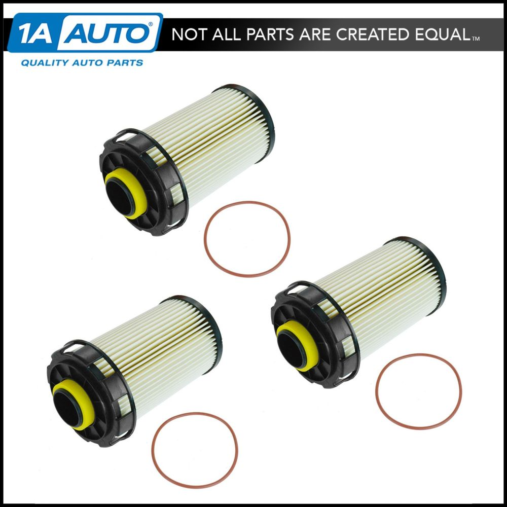 medium resolution of fuel filter replacement set of 3 for dodge ram 2500 3500 4500 5500 turbo diesel