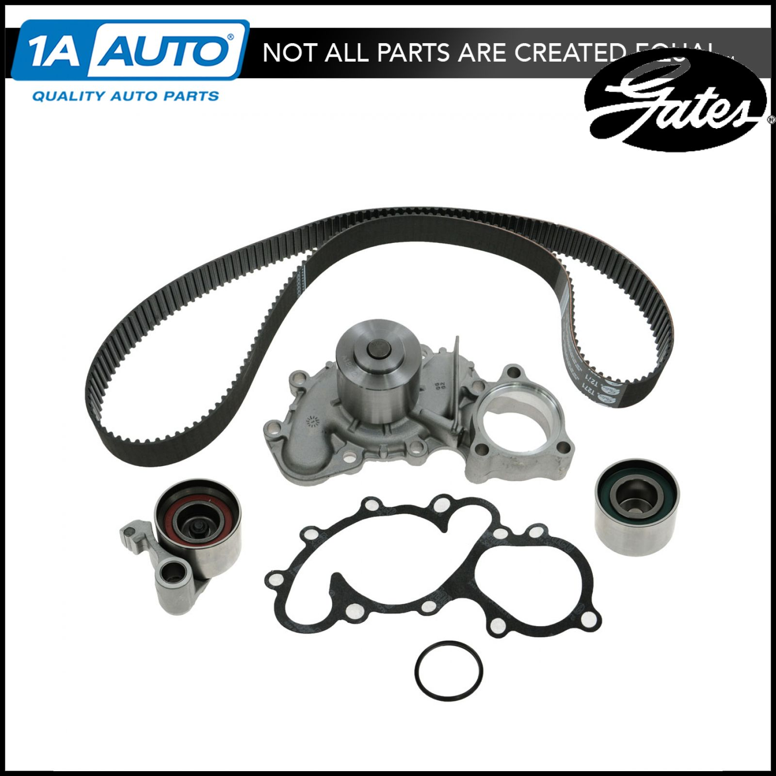 hight resolution of timing belt kit w water pump gates for toyota truck v6 3 4l