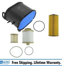details about motorcraft air oil fuel filter set of 3 for 03 07 6 0l powerstroke turbo diesel [ 1200 x 1200 Pixel ]