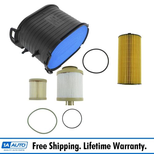 small resolution of details about motorcraft air oil fuel filter set of 3 for 03 07 6 0l powerstroke turbo diesel