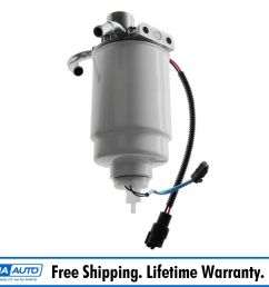 ac delco 12642623 diesel fuel filter housing for silverado sierra 2500 3500 6 6l [ 1600 x 1600 Pixel ]