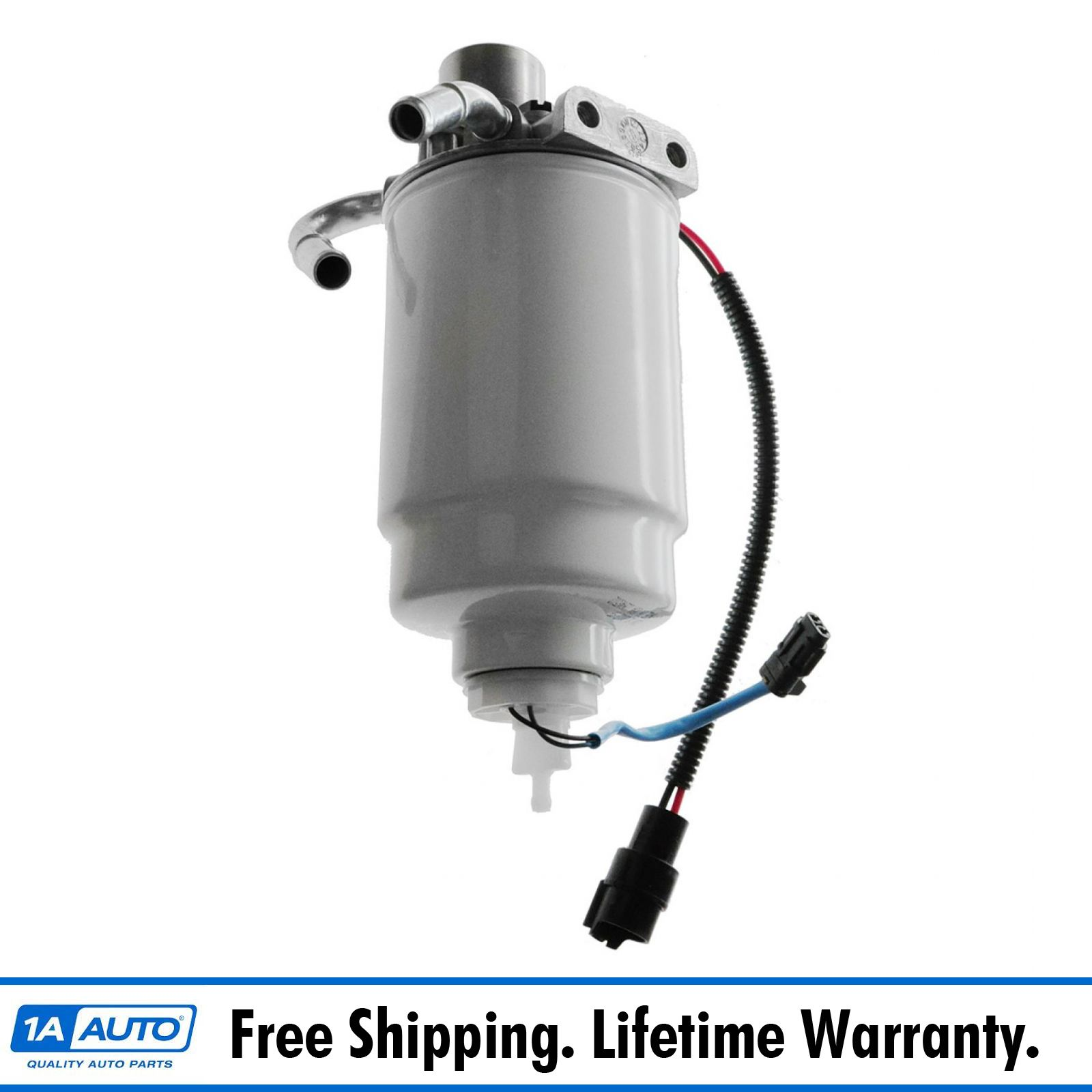 hight resolution of ac delco 12642623 diesel fuel filter housing for silverado sierra 2500 3500 6 6l