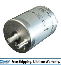 mercedes benz fuel filter for c230 c280 cl600 clk500 s430 slk230 sl500 [ 1600 x 1600 Pixel ]