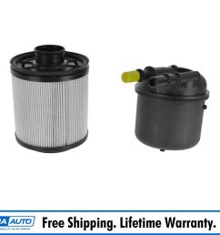 motorcraft fd 4615 fuel filter diesel for ford f250 f350 f450 f550 new [ 1600 x 1600 Pixel ]