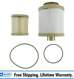 details about motorcraft fd4616 fuel filter for 03 07 ford super duty 6 0l powerstroke diesel [ 1600 x 1600 Pixel ]
