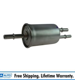 motorcraft fg1036 fuel filter in line for ford lincoln mercury new [ 1600 x 1600 Pixel ]