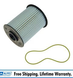 mopar 68001914ab diesel fuel filter for 00 09 dodge ram 2500 3500 l6 5 9l [ 1600 x 1600 Pixel ]