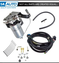 oem severe duty add on fuel filter system kit for dodge ram 6 7l diesel new [ 1200 x 1200 Pixel ]