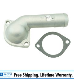 dorman 902 688 engine coolant thermostat housing w gasket for hyundai kia soul [ 1600 x 1600 Pixel ]