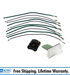 details about heater blower motor resistor connector plug for dakota durango jeep chrysler [ 1600 x 1600 Pixel ]