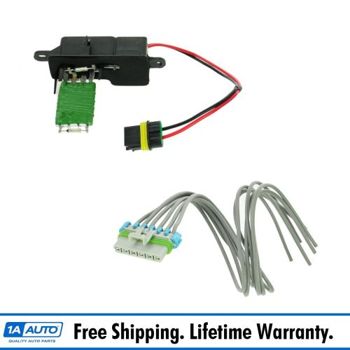 small resolution of dorman heater blower motor resistor w pigtail harness for chevy astro gmc safari