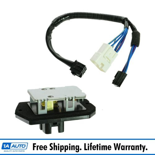 small resolution of dorman heater blower motor resistor w pigtail harness for toyota scion