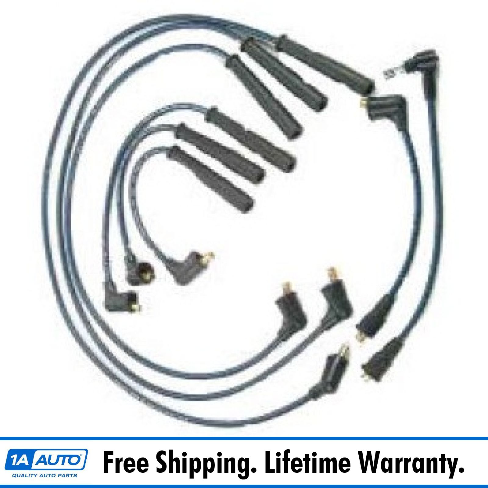 hight resolution of ignition spark plug wire set kit for 88 91 toyota pickup 4runner 3 0l