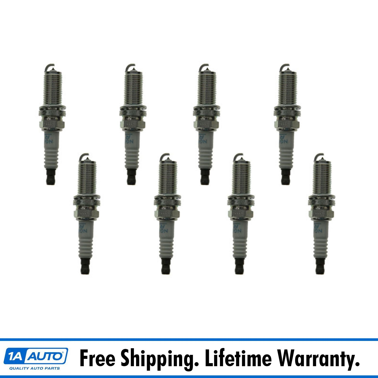 Ngk Plfr5a11 Laser Platinum Spark Plug Set Of 8 Kit