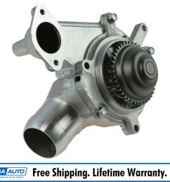 details about ac delco 251 748 engine water pump for chevy gmc pickup truck van 6 6l diesel [ 1200 x 1200 Pixel ]