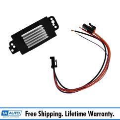 Wiring Diagram For Blower Motor Resistor Western Unimount Relief Valve 1999 Cadillac Deville Heater