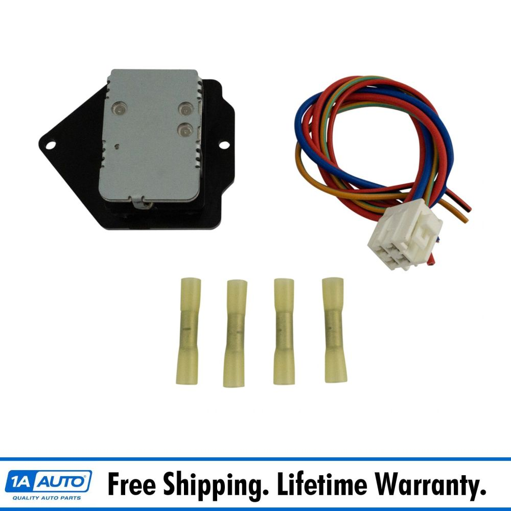 medium resolution of details about dorman 973 5095 heater ac blower motor resistor w harness for internationalac blower motor