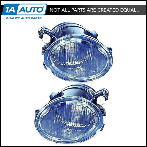 small resolution of details about round fog driving light lamp pair set driver lh passenger rh for bmw 3 series