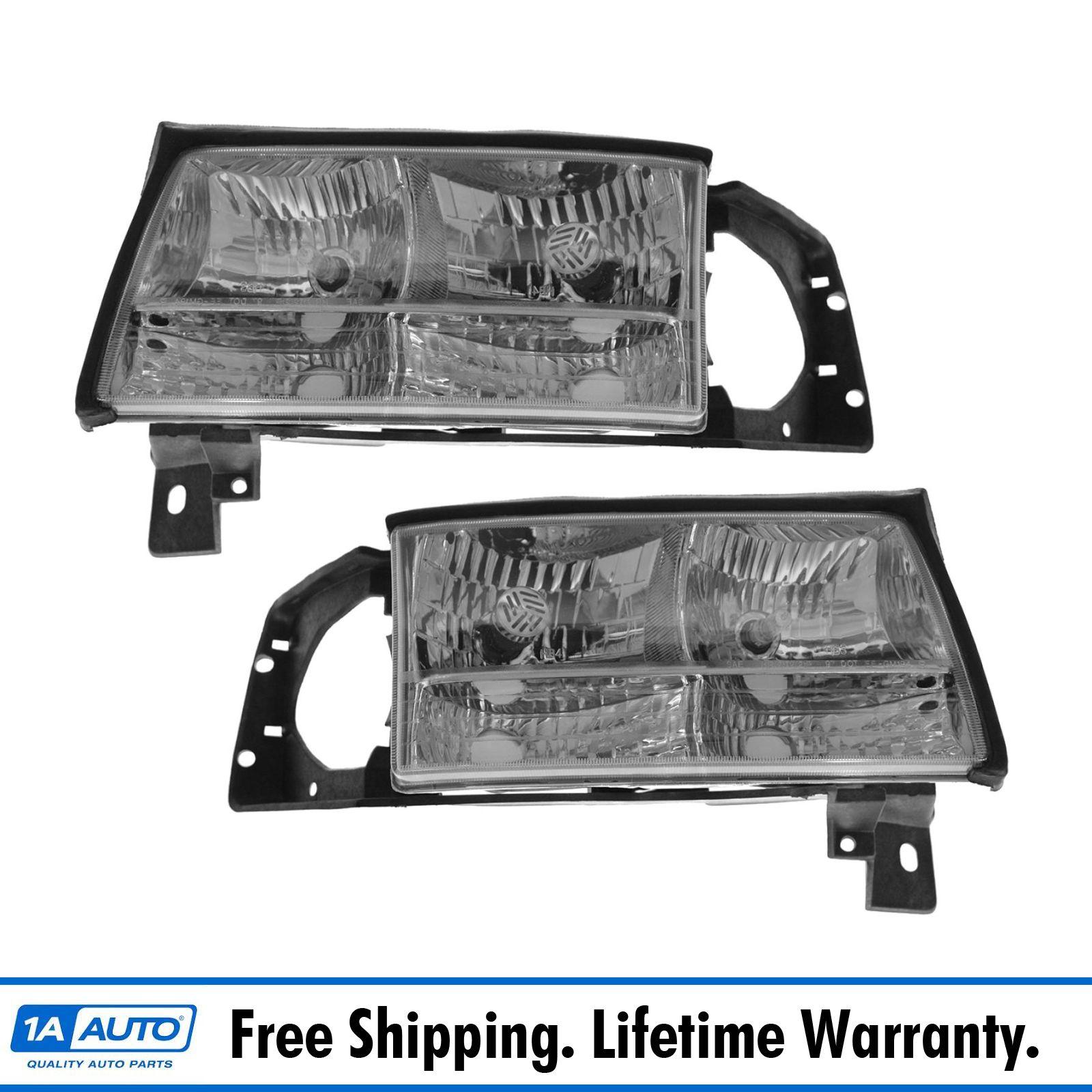 hight resolution of 1997 1998 1999 cadillac deville headlight headlamp pair