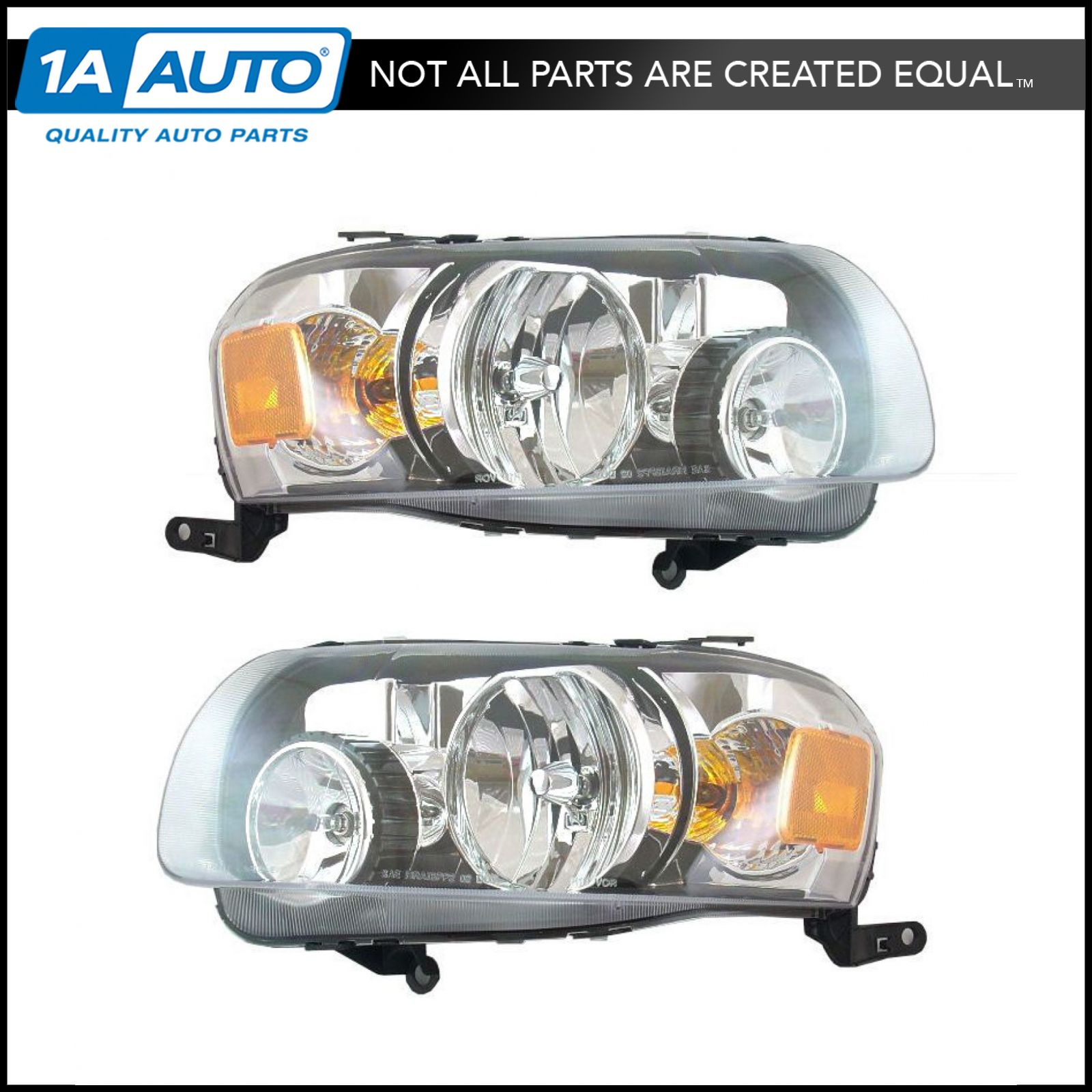 2006 ford escape headlight wiring diagram trane thermostat headlights headlamps pair set left right new for 05 07