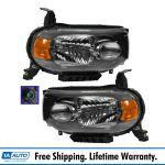 Headlamp Headlight Light Lamp Passenger Driver Pair Set For 09 13 Nissan Cube Ebay
