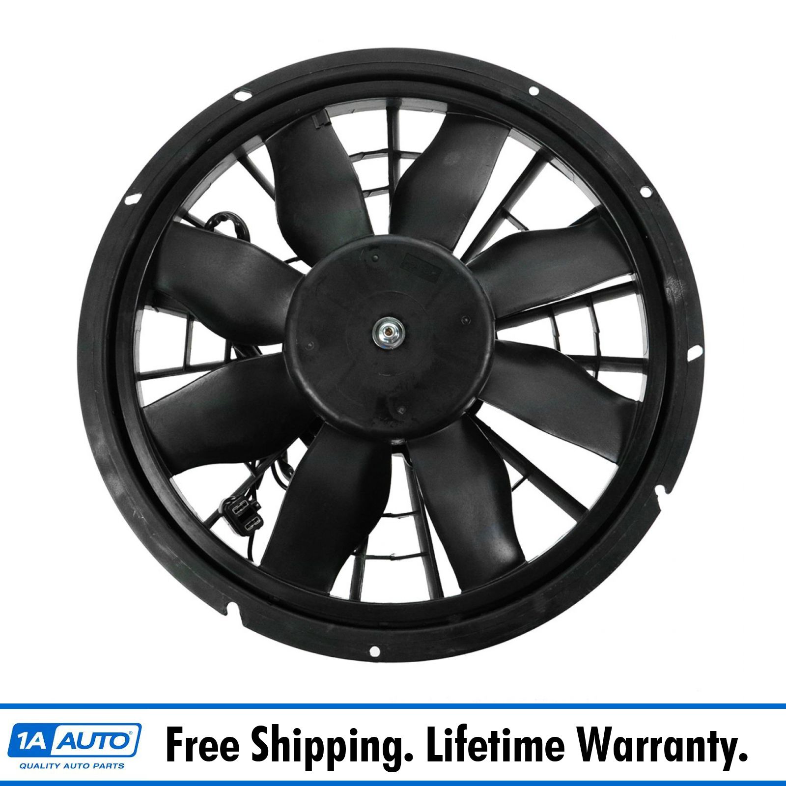 hight resolution of radiator cooling fan assembly for volvo s90 v90 740 940 960