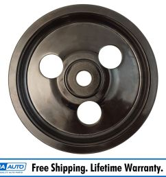 power steering pump pulley for 93 98 jeep grand cherokee v8 [ 1600 x 1600 Pixel ]