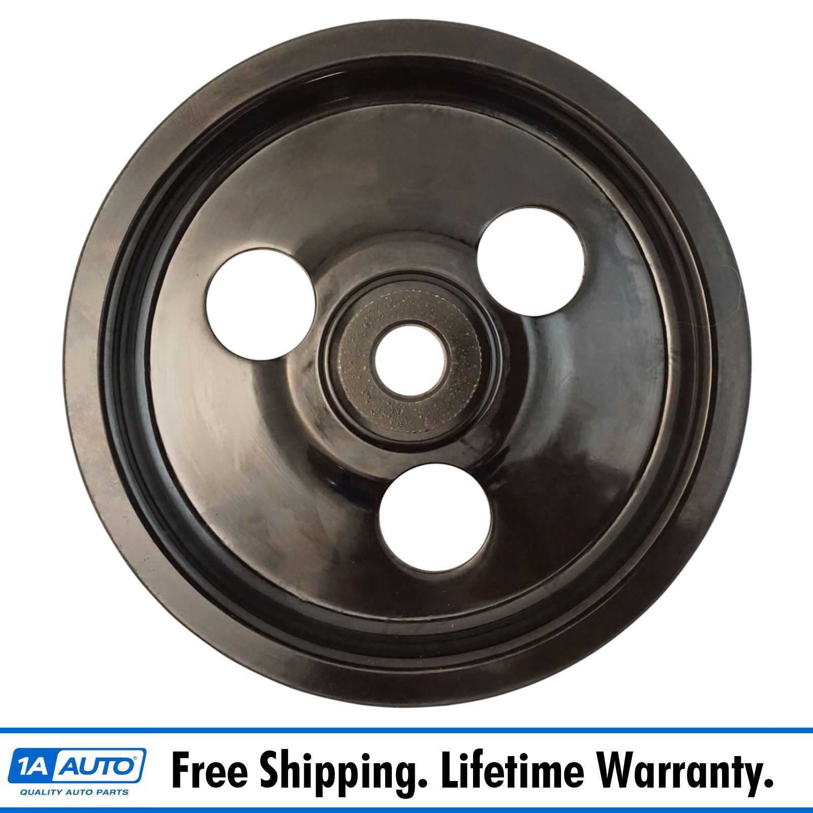 hight resolution of power steering pump pulley for 93 98 jeep grand cherokee v8