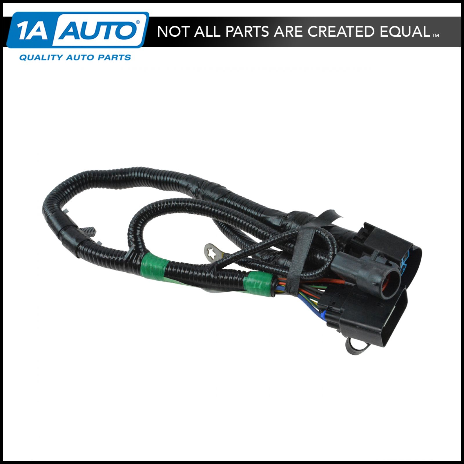 hight resolution of oem 7 way pin connector plug trailer towing harness assembly for ford pickup
