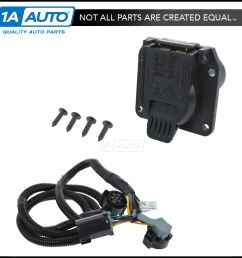 oem fifth wheel gooseneck trailer hitch wiring harness kit dodge 1500 trailer wiring connector dodge trailer wiring harness diagram [ 1600 x 1600 Pixel ]