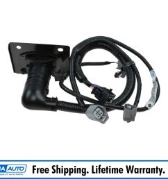 oem trailer tow hitch wiring harness 7 pin connector for toyota tacoma brand new [ 1200 x 1200 Pixel ]