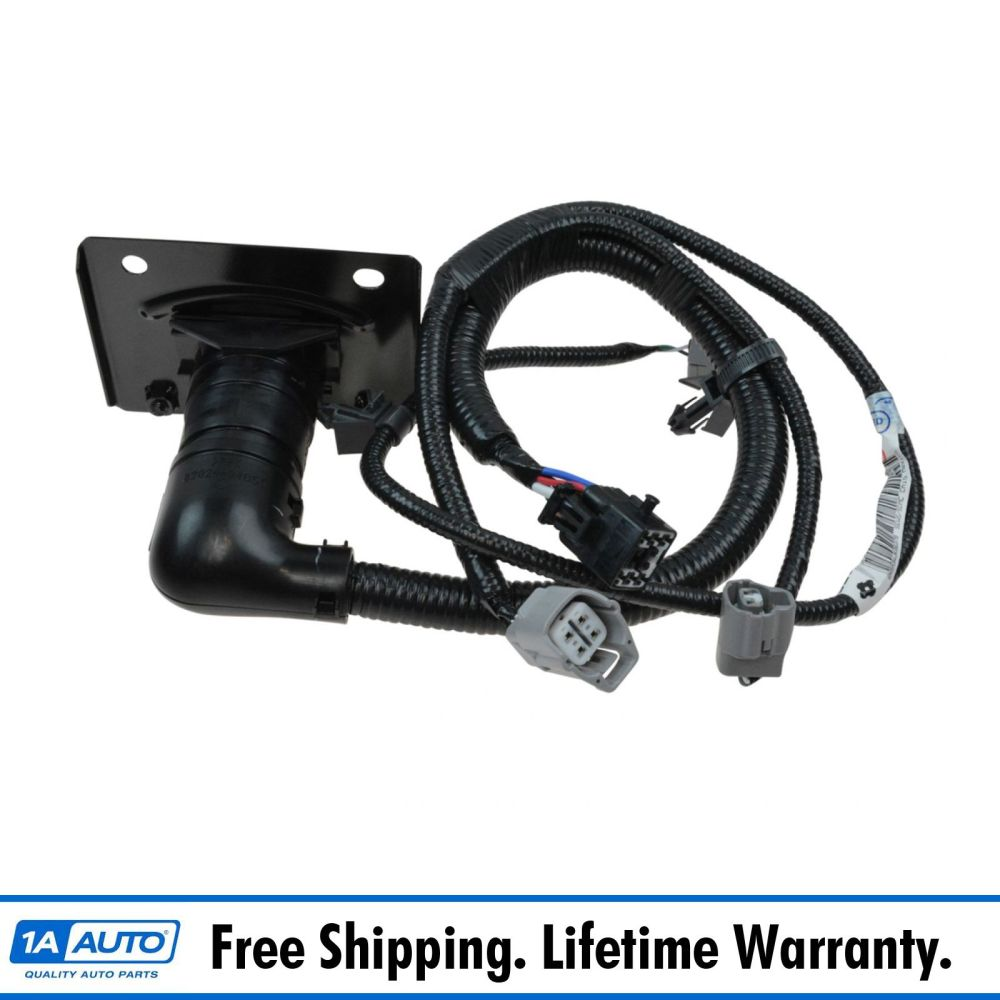 medium resolution of oem trailer tow hitch wiring harness 7 pin connector for toyota tacoma brand new