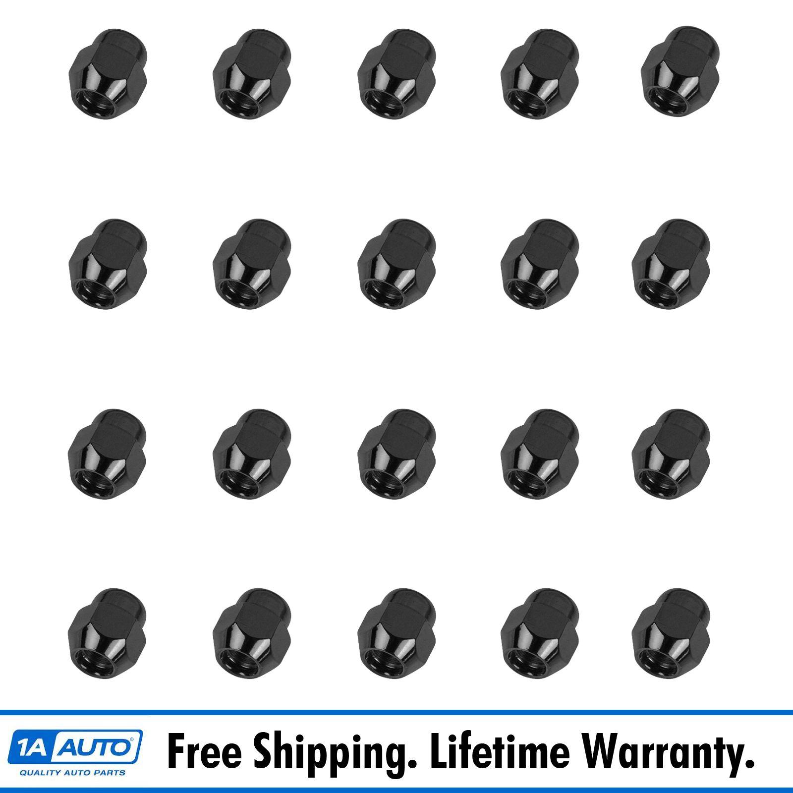 Oem Zn50a Wheel Lug Nut Chrome Acorn Style Set Of 20