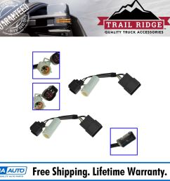mirrors power heated upgrade harness adapter lh rh pair set for 00 01 excursion [ 1600 x 1600 Pixel ]